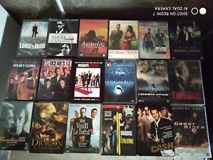 LOT DE 25 DVD EN EXCELLENT ETAT DVD ZONE 2 + 1 COFFRET FILM CATASTROPHE