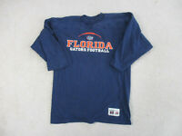 VINTAGE Florida Gators Shirt Adult Large Blue Orange UF Long Sleeve Mens 90s