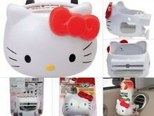 New Hello Kitty Face-Type Car Accessory Drink Holder Kawaii Cute Japan import