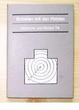 RARE East German MAKAROV Pistol Shooting Book Manual DDR Volkspolizei Stasi NVA