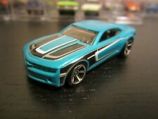 Hot Wheels 2010 Chevy Camaro - Blue/Black 1:64