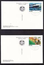 Nauru 1982 Phosphate Postcards Pack Cto