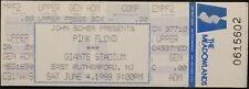 **** PINK FLOYD **** - 1988 UNUSED COMPLIMENTARY CONCERT TICKET - GIANTS STADIUM