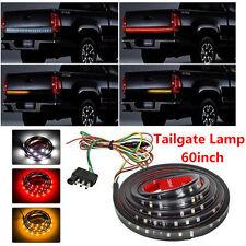 "Flexible 60"" LED Car Truck RV Tailgate Strip Bar Brake Reverse Turn Signal Light"