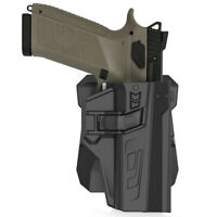 Holster Fit CZ-USA P07 P09 360° Adj Paddle Tactical Holder Polymer Case