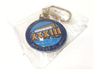 1999 NFL Super Bowl XXXIII Miami Florida Key Chain Pro Player Stadium