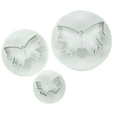 Butterfly Plunger Cutters,Set of 3 Cutters