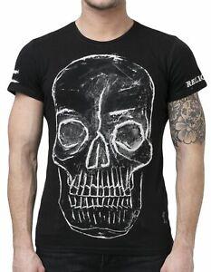 "RELIGION Clothing Herren T-Shirt Shirt ""BUMP"" Schwarz NEU"