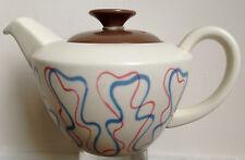 Vintage Poole Pottery Freeform Small Tea Pot Ariadne Desin from the 50's Retro