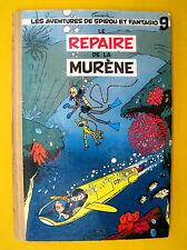 SPIROU ET FANTASIO LE REPAIRE DE LA MURENE   FRANQUIN  EO BELGE 1957 BE
