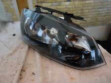 VW Polo 6R DRIVER RIGHT O/S HEADLIGHT  FRONT 6R2941016E no top  bracket