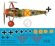 Peddinghaus 1/48 Fokker Dr.I Markings Werner Steinhauser Jasta 11 Cappy '18 3717