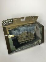 Forces of Valor Action Series 1944 US German King Tiger Tank Normandy 1:72 - New