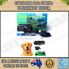 New Electronic Dog Fencing Containment System Fence Boundary Collar Waterproof
