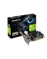 Gigabyte GeForce GT 710 Grafikkarte 1GB PCI-E 2.0 DDR3 954 MHz 1800 64bit (GV-N7