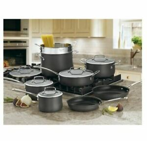 Cuisinart Contour Hard Anodized 13 Pc. Set New + Freeshipping !!!