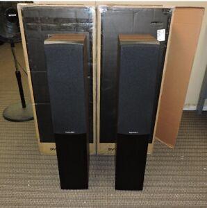 Dynaudio Emit 30 Floorstanding Loudspeakers - Pair (Walnut Wood)