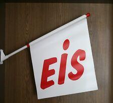 Werbefahne Eisfahne Kioskfahne Fahne, Motiv: EIS