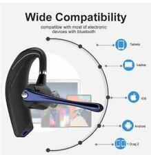 Bluetooth 5.0 Headset Handsfree Wireless Earpiece Rotatable In Ear Clear Audio