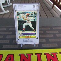 1979 Topps Pete Rose Baseball Card #650, Grade 10, Gem Mint, HOF