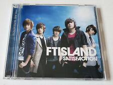 FTISLAND Satisfaction Japan Press CD+DVD - No Photocard FT ISLAND