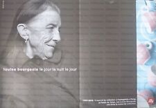 LOUISE BOURGEOIS italian advert advertising trade ILLY caffè NO REPRINT