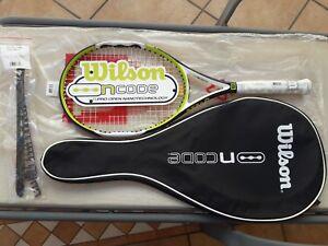 Raqueta Tenis Wilson Ncode Npro Open 100 Nueva