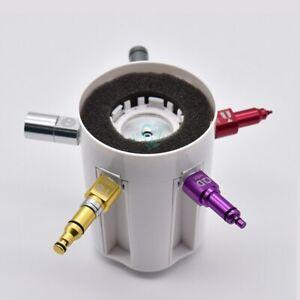 1Set Dental Handpiece Lubrication Spray Cover Dental Oiler Supports 5 simple
