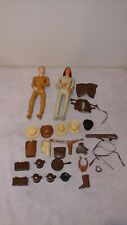 Vintage Marx Johnny West Best of the West Action Figures and Accessories  Lot