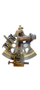 Nautical Solid Brass Working Navigation KELVIN & HUGES LONDON 1917 Sextant