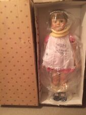 Patti Playpal Doll NRFB Ashton Drake Red Checked Pinafore Lifesize Reproduction
