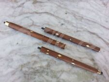 Antique 3 Fold Victorian Style Wooden Walking Stick Shaft Cane Handemade Gift