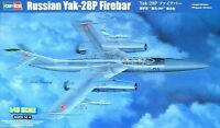 Hobbyboss 1:48 Yak-28P Firebar Russian Aircraft Model Kit