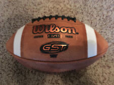 Wilson GST TDY 1320 Youth Leather Football Dicks Sporting Goods NEW