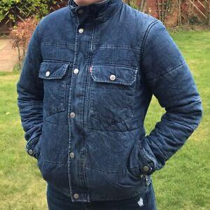 Levi's Denim Puffer Jacket Size S