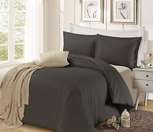1200TC 3 Pieces Quilt/Doona/Duvet Cover Set Queen/King/Double/Super King Bed