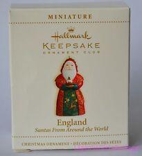 2006 Hallmark Keepsake Ornament Club England Santas From Around the World New