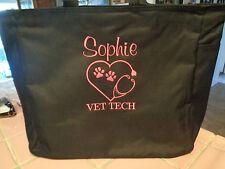 1 TOTE Bag VET DR VET TECH  TECHNICIAN OFFICE GIFT ANIMALS PETS DOG CAT HORSE
