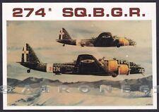 AVIAZIONE 29 AERONAUTICA - 274ª SQUADRIGLIA PIAGGIO P. 108 - BROVARONE Cartolina
