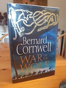 2018 Signed First Edition Bernard Cornwell War Of The Wolf