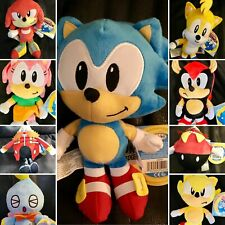 🔥 ¡Hot! Genuine Sonic the Hedgehog Super Tails Eggman Amy Mighty Knuckles Plush