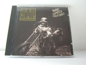 BAD COMPANY - HERE COMES TROUBLE (CD) sans boitier