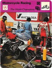 1977 Sportscaster Card Motorcycle Racing The World Champions #20-06 NRMINT.