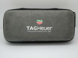 Original Grey suede Men's TAG Heuer Watch Service Case Box Holder,with inserts