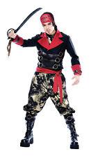 Apocalypse Pirate Mens Large Jacket, Pants, Ascot, Sash And Bandana