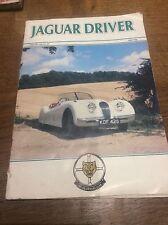 Jaguar driver vintage voiture magazine février 1986 nº 307 jag voitures de sport