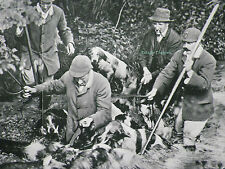 Crowhurst Hounds Otter Hunting Lingfield Sussex 1908 2 Page Photo Article A170