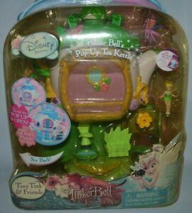 2009 DISNEY FAIRIES TINKER BELL LOST TREASURE  TINKER BELL'S POP UP TEA KETTLE