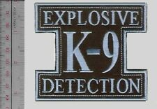 Philippines Air Force PAF K-9 Explosive Detection Canine Unit Airman Dog Handler