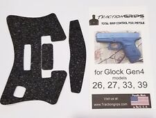 ULTRA THIN RUBBER TRACTION GRIP TAPE FOR GENERATION 4 GLOCK MODELS 26,27,33,39